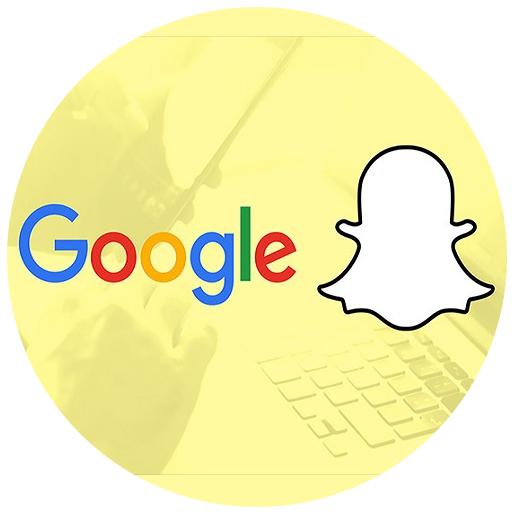 snapchat and google